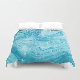 BLUE SWIRL Duvet Cover