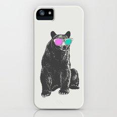3D is Un-bear-able  Slim Case iPhone (5, 5s)