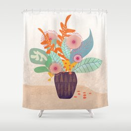Tropic In A Pot #society6 #buyart #decor Shower Curtain