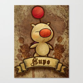 Kupo - Moogle Canvas Print
