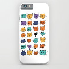 Stylish Cats Slim Case iPhone 6s