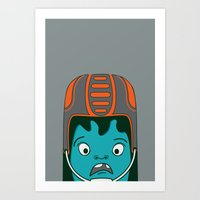 sports Art Prints featuring Sports?! by Aron Gelineau