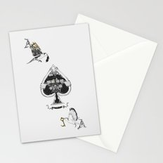The ace of spades Stationery Cards