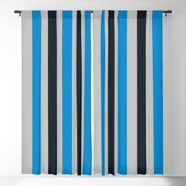 Carolina Football Team Colors Blackout Curtain