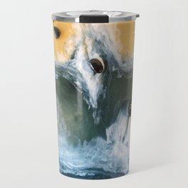 Garry Point - Original Resin Painting Travel Mug