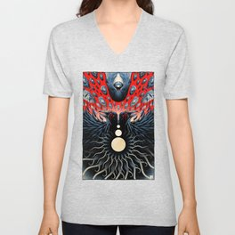 Stones from the Sky (color) Unisex V-Neck