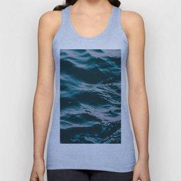water waves Unisex Tank Top