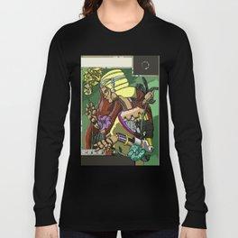 L'ermitage Steampunk Art Nouveau robot Long Sleeve T-shirt