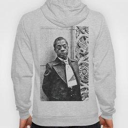 James Baldwin - Society6 African American Playwright - Essayist Poet - Black Activist 609 Hoody