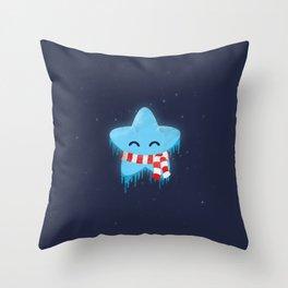 North Star Throw Pillow