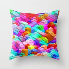 The Future looks bright to me Throw Pillow