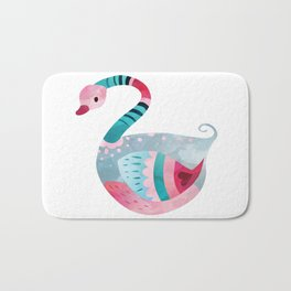 Love Bird Swan Bath Mat