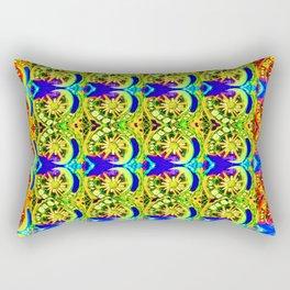Circle design number 6 Rectangular Pillow