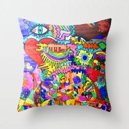 Pop Up Love Throw Pillow