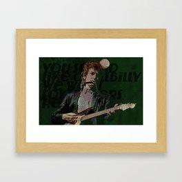 Dylan Goes Electric Framed Art Print