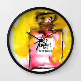 Channel No. 5 Wall Clock