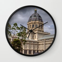 Royal Exhibition Building Architecture Wall Clock
