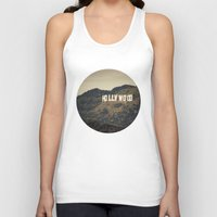 hollywood Tank Tops featuring Old Hollywood by CMcDonald