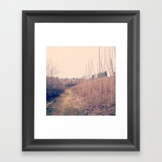 Nice Day Framed Art Print