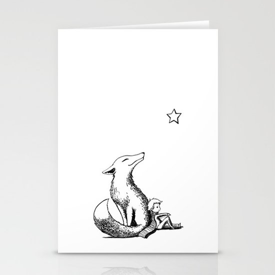 Prince and the Fox Stationery Cards