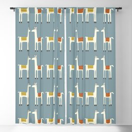 Everyone lloves a llama Blackout Curtain
