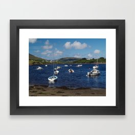 Teelin Bay Framed Art Print