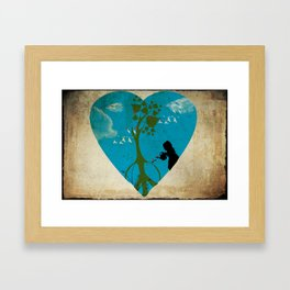 cultivating peace Framed Art Print