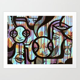 The Tribe Art Print