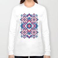 kaleidoscope Long Sleeve T-shirts featuring Kaleidoscope by Panic Junkie