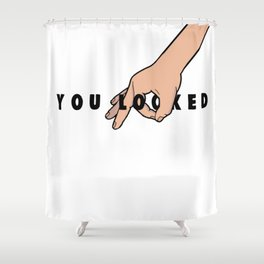 The Circle Game: You Looked Shower Curtain