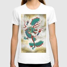 Dragon in the Cloud Type F: Minhwa-Korean traditional/folk art T-shirt