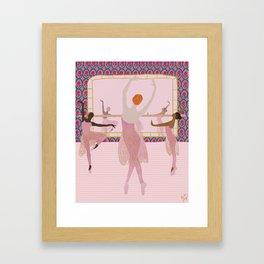 Ballerinas in the Studio Framed Art Print