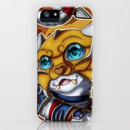 Shado-Pan Tiger iPhone Case