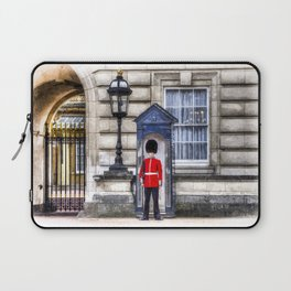 Buckingham Palace Queens Guard Art Laptop Sleeve