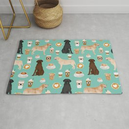 Labrador retriever gifts for lab owners golden retriever chocolate lab black lab dog breeds Rug