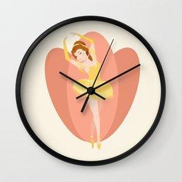 Ballerina Beauty Wall Clock
