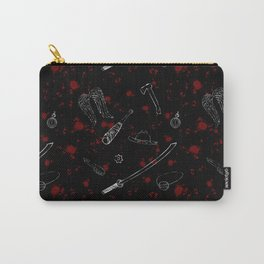 Zombie Print Carry-All Pouch