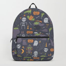Cute Happy Halloween Backpack