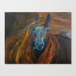 Strong Steed Canvas Print