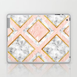 Gold and marble Laptop & iPad Skin