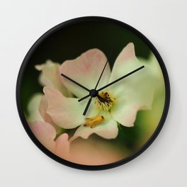 Garden Rose Wall Clock