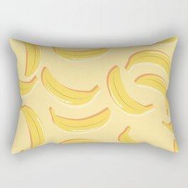 Banana pattern 02 Rectangular Pillow