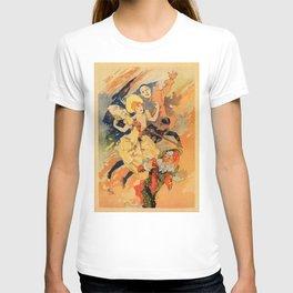 Pantomime comedy 1891 by Jules Chéret T-shirt