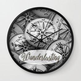 wanderlusting Wall Clock