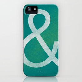 Akzidenz Grotesk Light iPhone Case