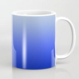 Blue Morning Glory Ombre Coffee Mug