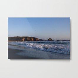 Beach at Pudding Creak, Fort Bragg, Northern California Metal Print