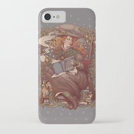 NOUVEAU FOLK WITCH iPhone Case