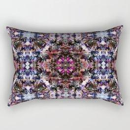 Blue Bossa Rectangular Pillow