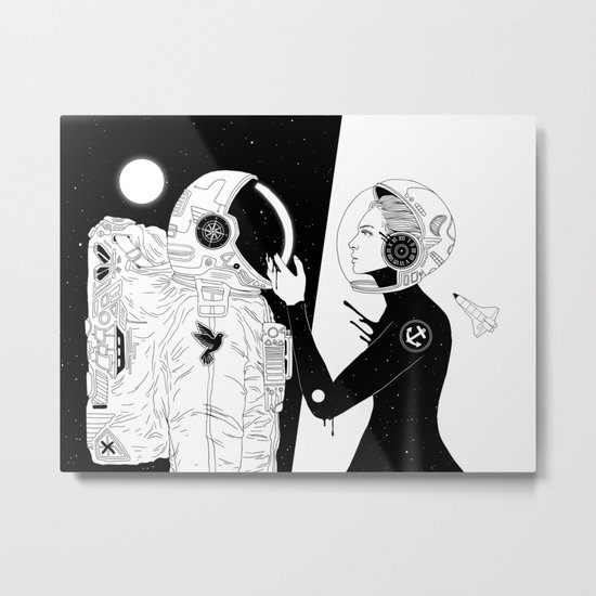 I Found a Space for Us Metal Print